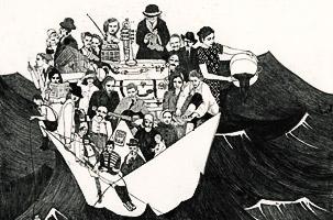 sos - mostra internazionale di illustratori contemporanie - ospite speciale beppe giacobbe