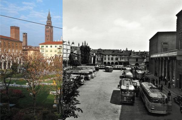 Cremona piazza Stradivari