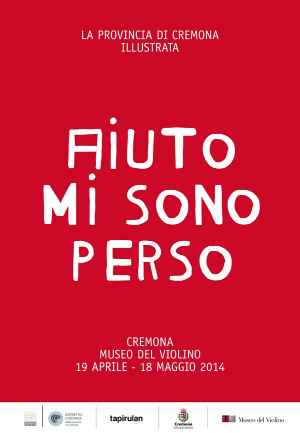 manifesto della mostra aiuto misono perso