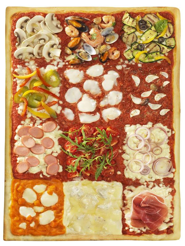 Pizza Collection Tapirulan - La teglia intera