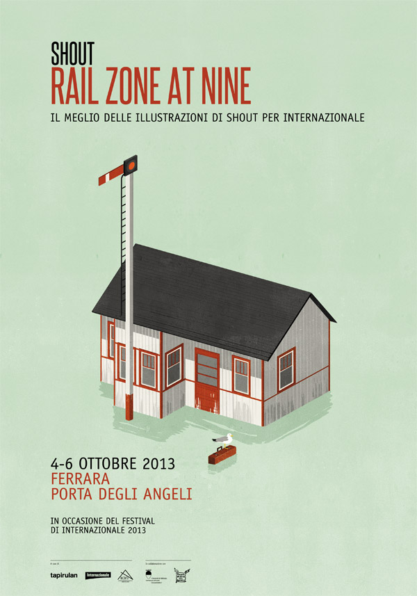 rail zone at nine poster