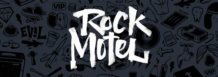 rock motel logo