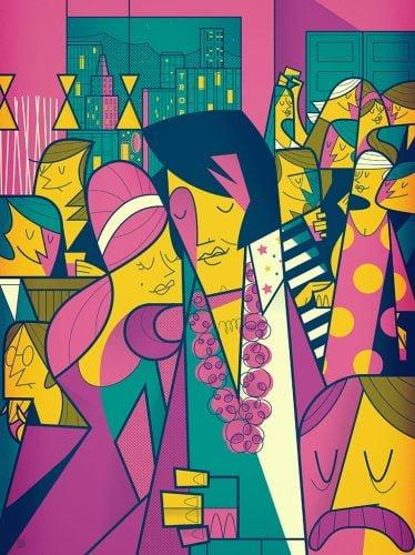 Elvis - Illustrazione di Ale Giorgini per Rock Motel