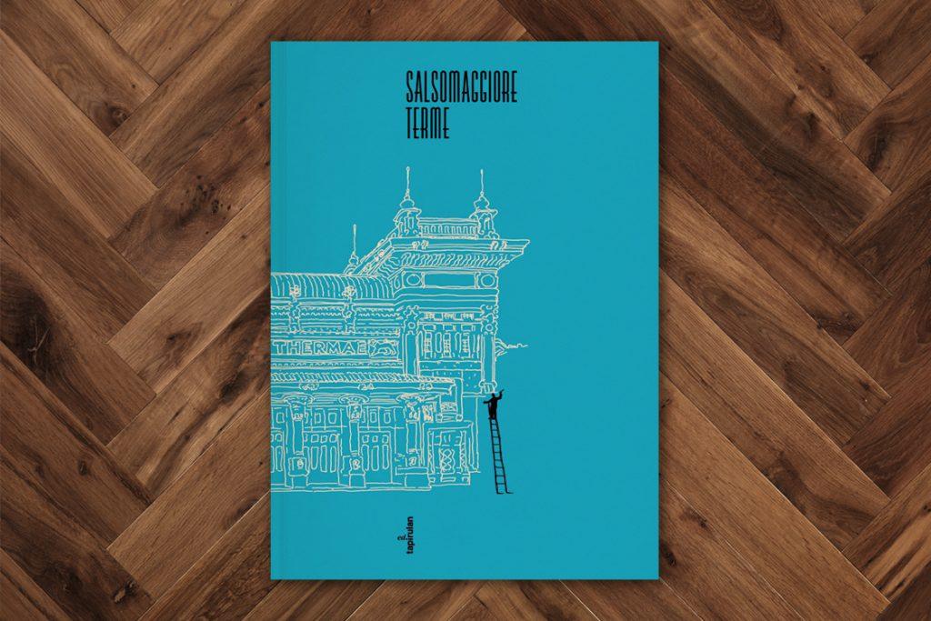 Salsomaggiore Terme - Guida turistica illustrata (copertina con illustrazione di Guido Scarabottolo)