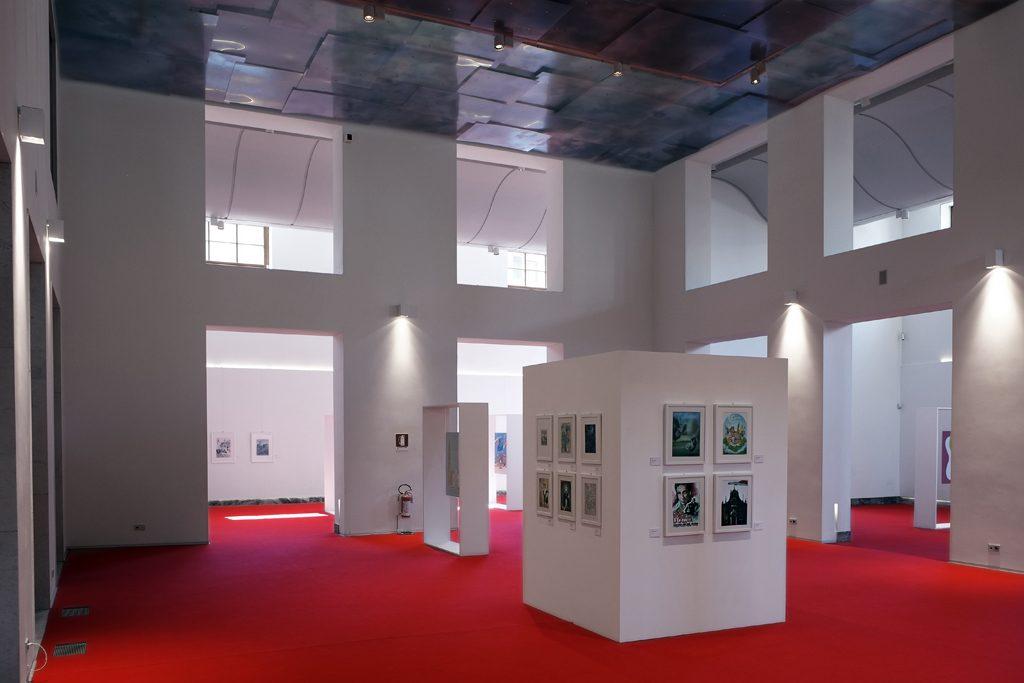 Allestimento di Aiuto mi sono perso (Cremona e provincia) al Museo del Violino di Cremona