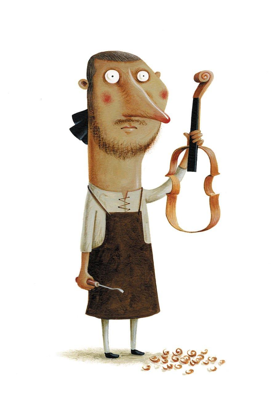 Joao Vaz de Carvalho - Antonio Stradivari