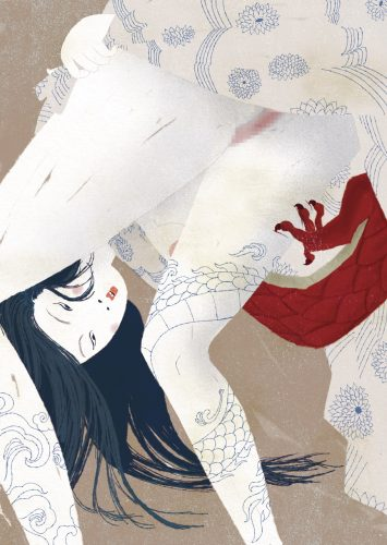 Asian - Illustrazione di Carla Manea