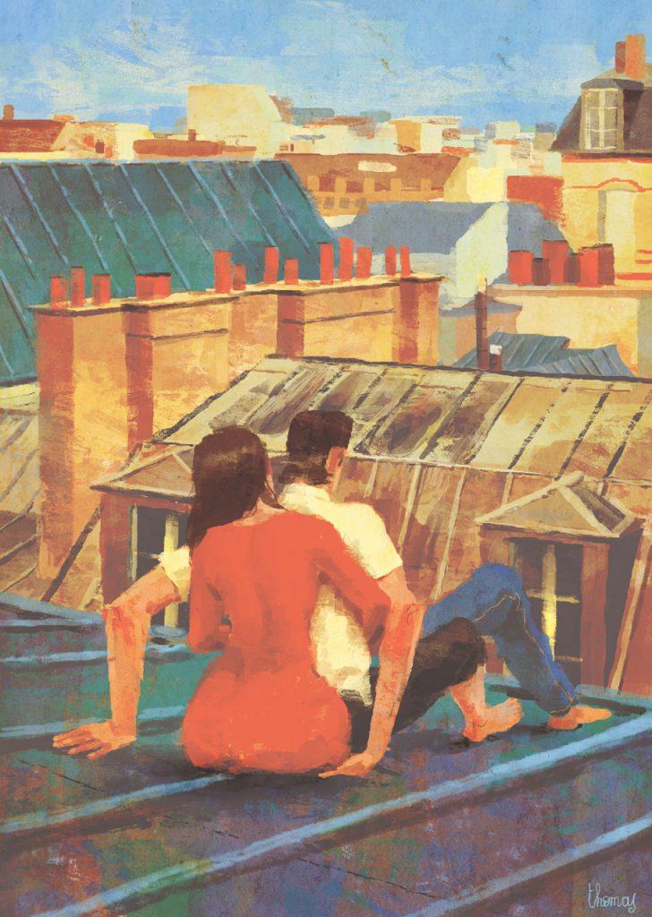 Handjob - Illustrazione di Thomas Campi