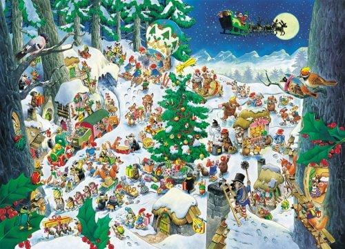 Natale - Illustrazione di Tony Wolf