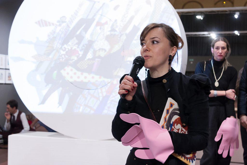 Victoria Semykina, vincitrice del Premio della Critica della tredicesima edizione del Concorso di illustrazione Tapirulan