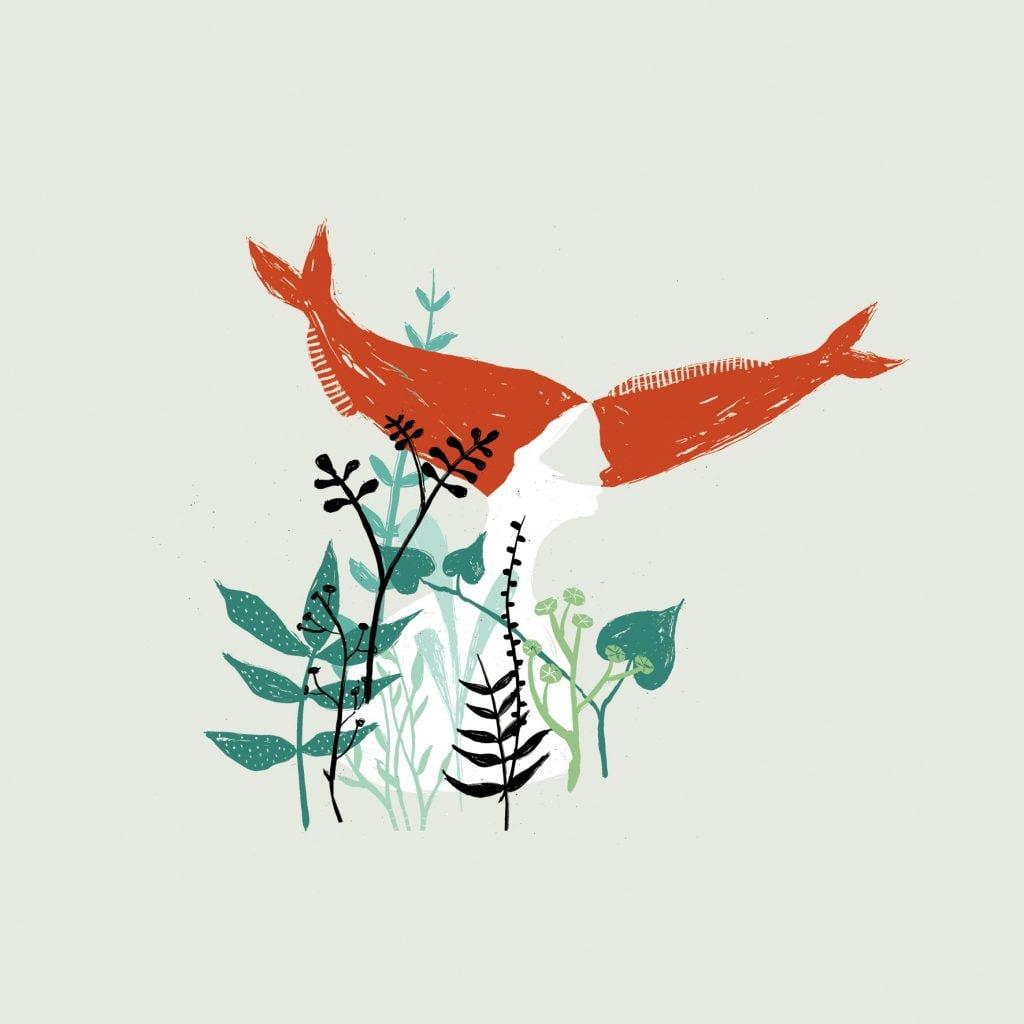 Code di pesce - illustrazione di Elisa Talentino