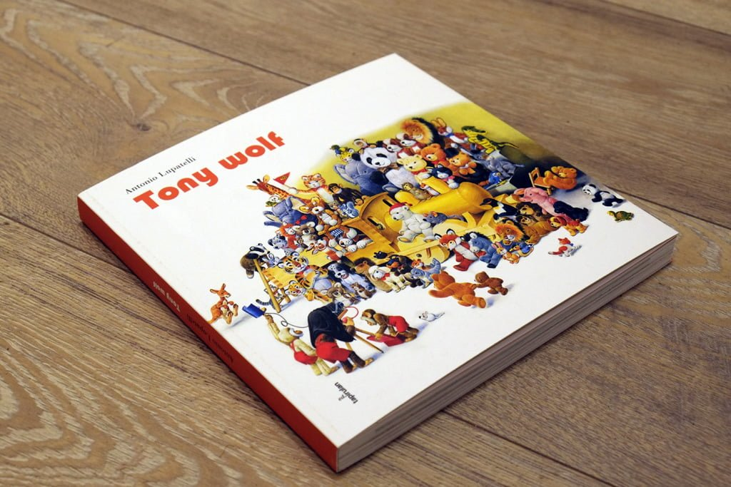 Il catalogo di Antonio Lupatelli, noto come Tony Wolf