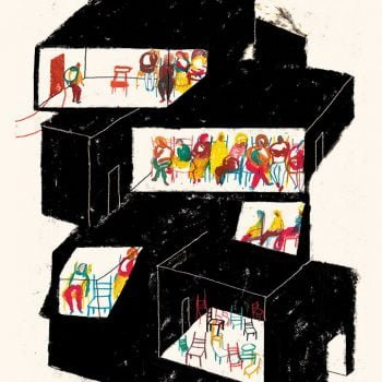 Attesa - Illustrazione di Giulia Pastorino