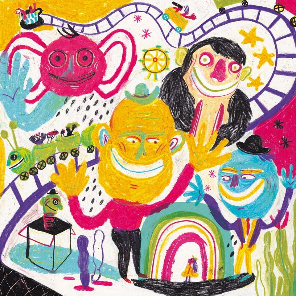 CIAOlandia - Illustrazione di Giulia Pastorino
