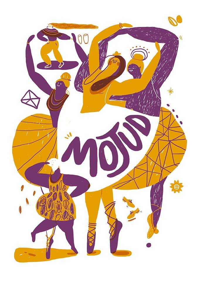 Danza 01 - Illustrazione di Giulia Pastorino