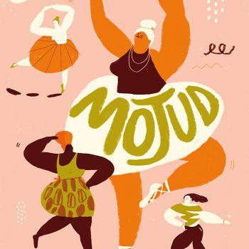 Danza 02 - Illustrazione di Giulia Pastorino