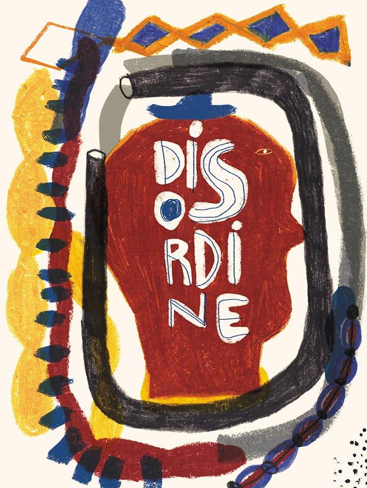Disordine - Illustrazione di Giulia Pastorino