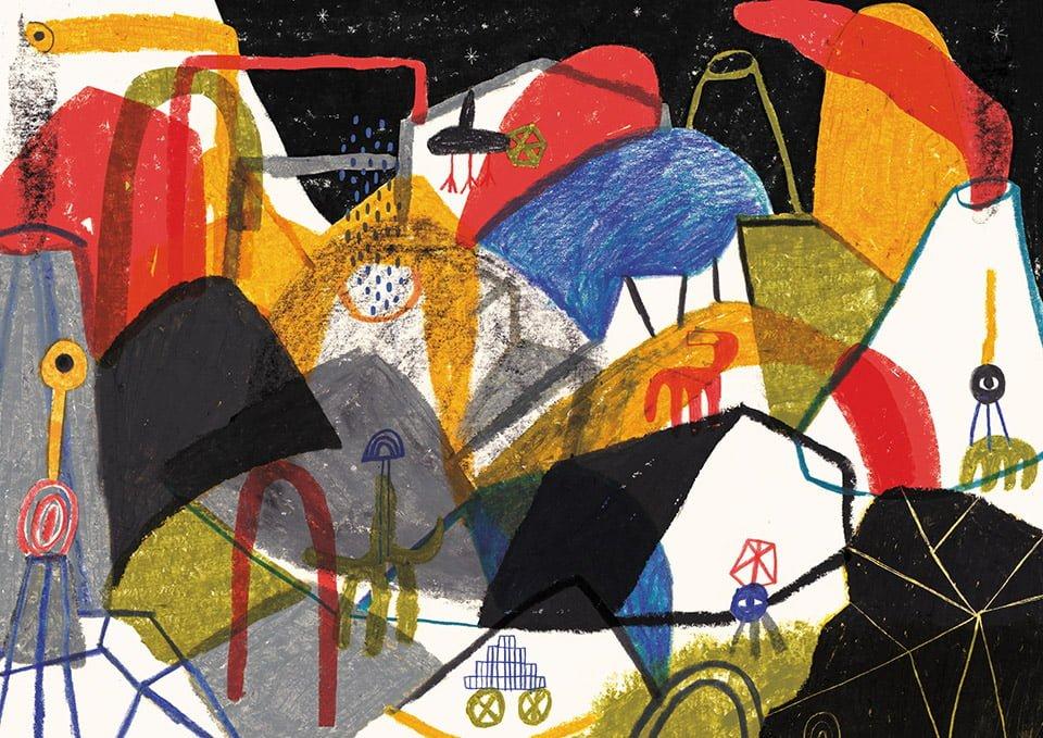 Estranei 02 - Illustrazione di Giulia Pastorino