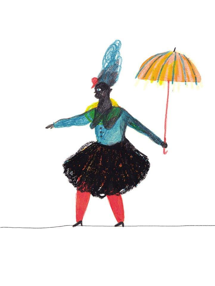Il circo 02 - Illustrazione di Giulia Pastorino