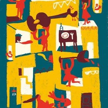 La mia casa è dove sono - Illustrazione di Giulia Pastorino