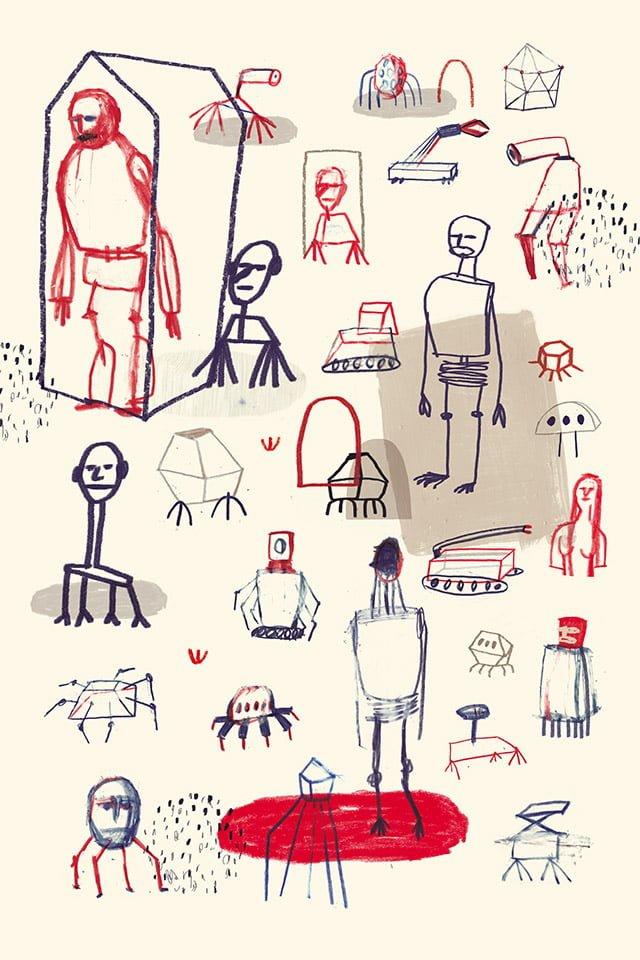 Notturni 01 - Illustrazione di Giulia Pastorino