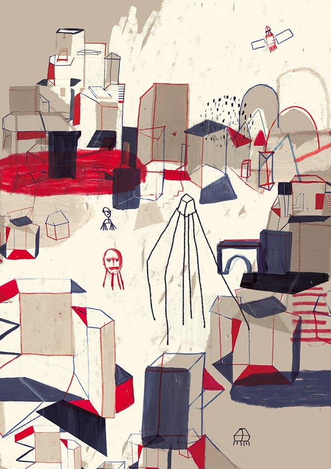 Notturni 02 - Illustrazione di Giulia Pastorino