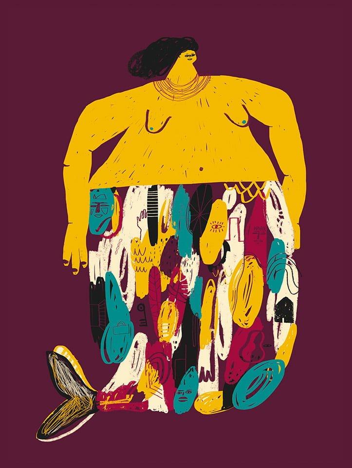 Sirene - Illustrazione di Giulia Pastorino
