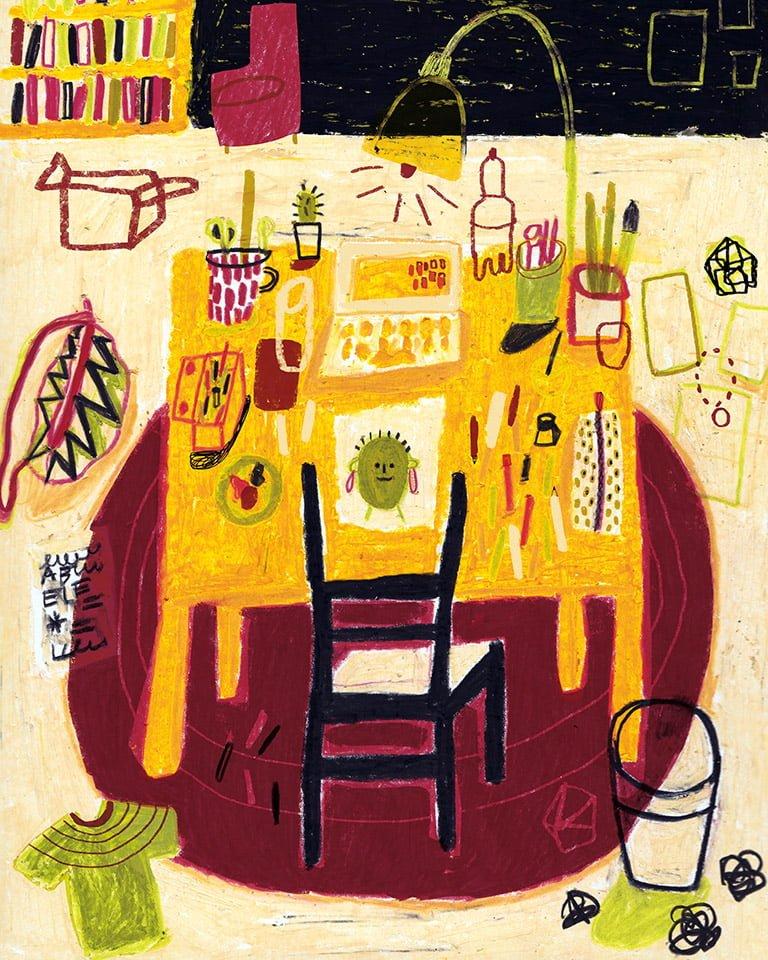 Stanze 04 - Illustrazione di Giulia Pastorino