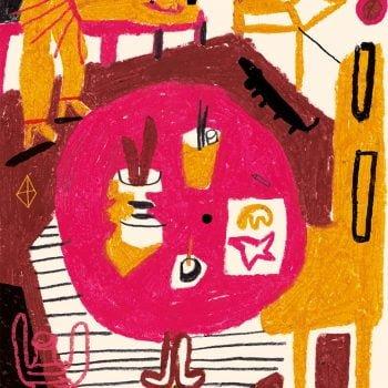 Stanze 05 - Illustrazione di Giulia Pastorino
