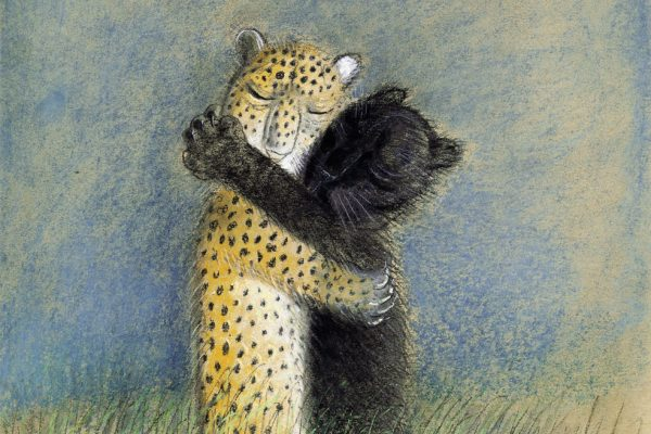 Leopantera - Illustrazione di Józef Wilkoń
