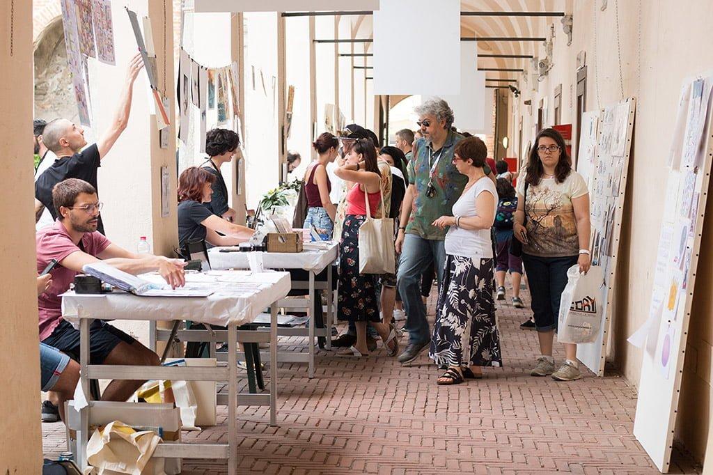 Inchiostro Festival - Artisti al lavoro