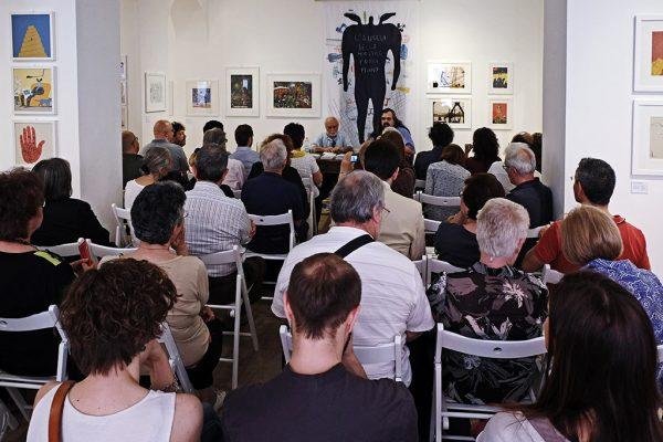 Il pubblico presente alla premiazione dell'ottava edizione del concorso di poesia