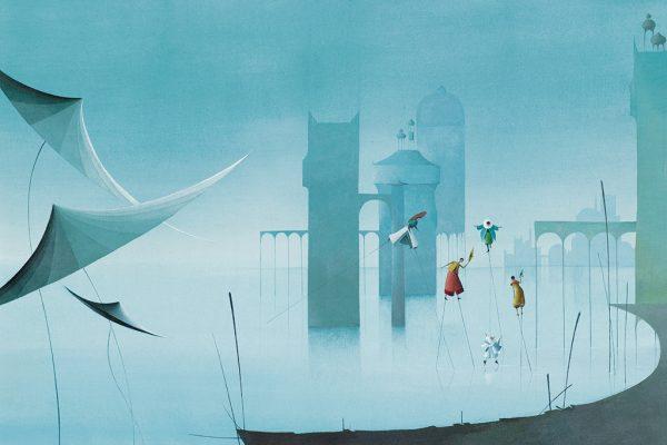 Illustrazione di Éric Puybaret
