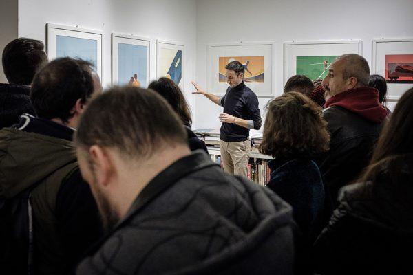 Inaugurazione Dry - Mostra di Joey Guidone