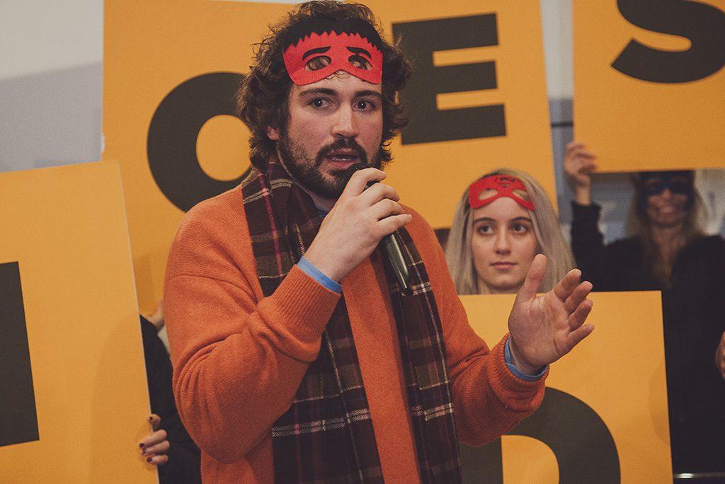 Francesco Fidani, vincitore del Premio della Critica