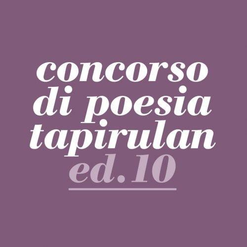 Concorso di poesia Tapirulan - Decima edizione - Logo