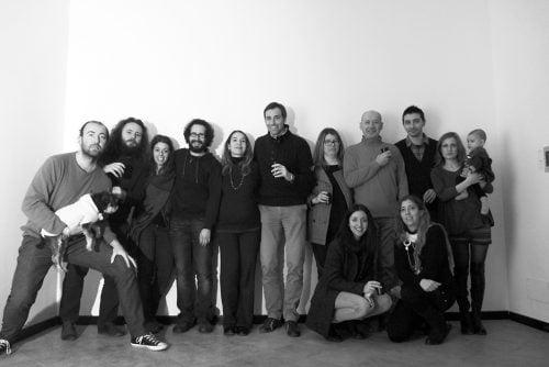 Foto di gruppo - Prima riunione nella sede di Tapirulan in corso XX settembre 22 a Cremona